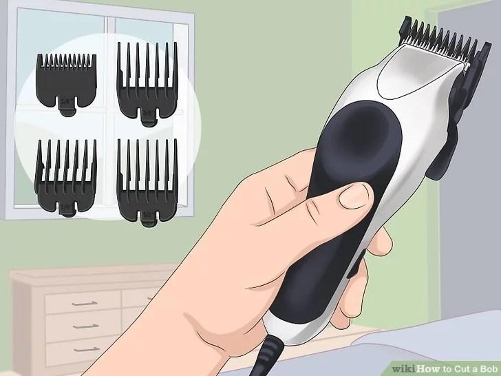 Image titled Cut a Bob Step 2