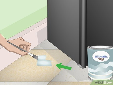 how to paint vinyl flooring 12 steps