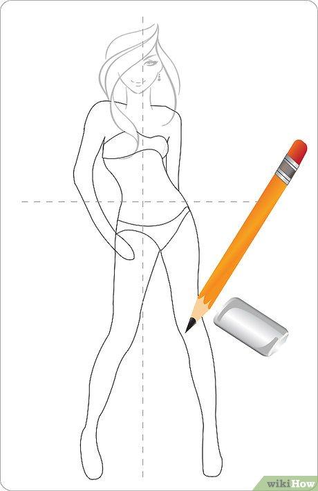3 Ways To Draw Dresses Wikihow
