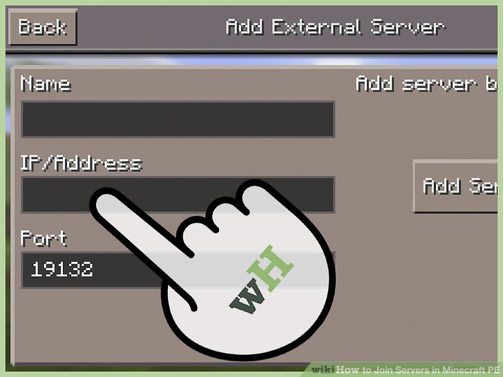 Minecraft Where Can Server Find Pe Address I