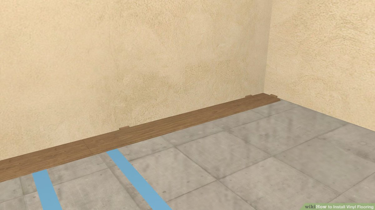 how to install vinyl flooring with