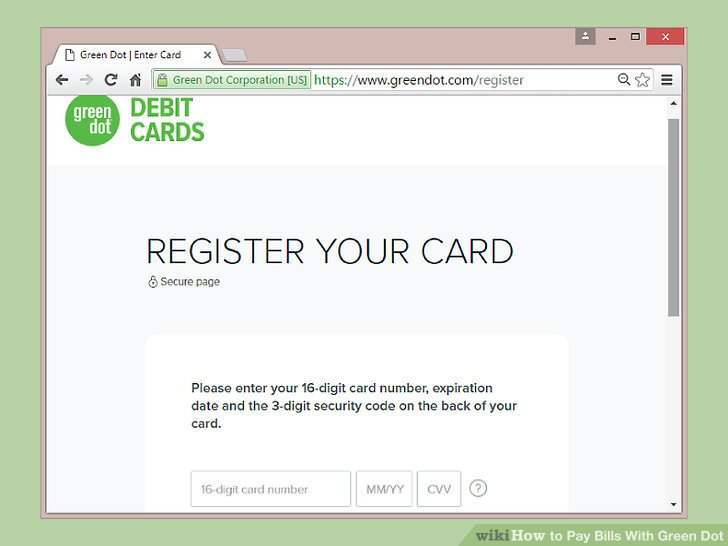 green dot com register new card letterjdi org - Green Dot Visa Debit Card