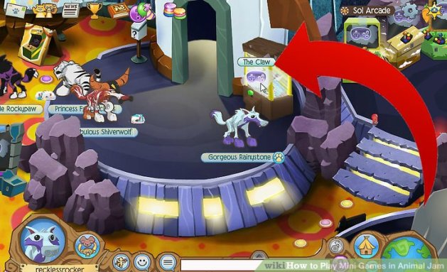 How to Play Mini Games in Animal Jam  5 Steps  with Pictures  Image titled Play Mini Games in Animal Jam Step 2