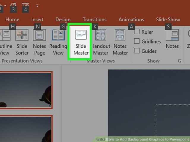 How To Add Background Graphics Powerpoint With Pictures Image Titled