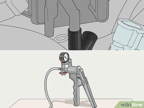 test an exhaust pressure sensor