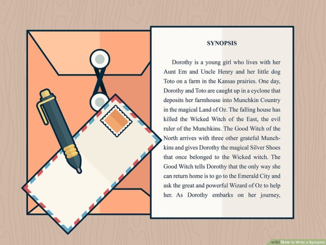 How to Write a Synopsis (with Pictures) - wikiHow