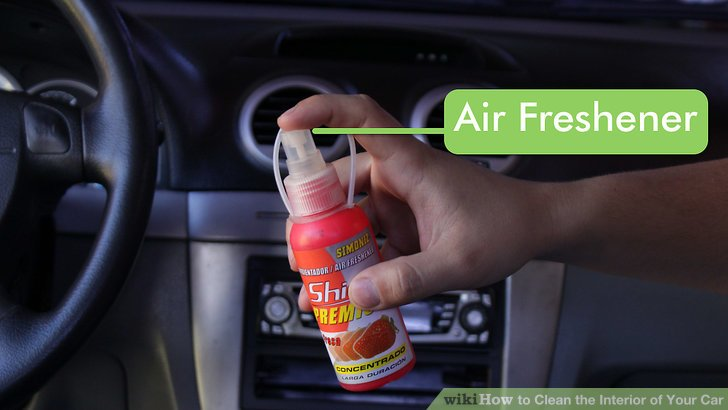 How To Clean The Interior Of Your Car With Pictures