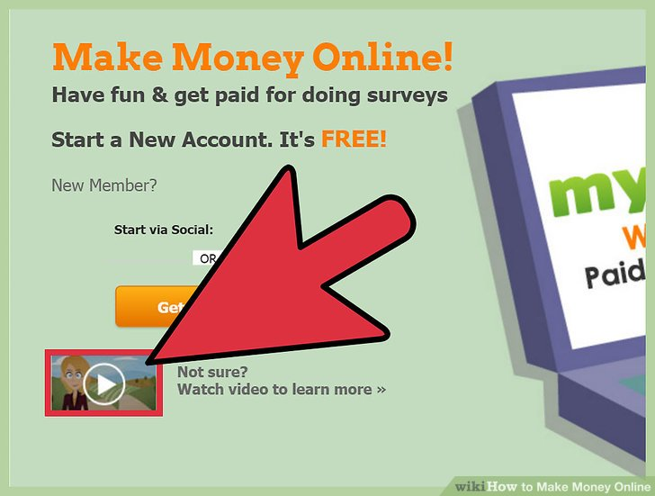 4 Ways To Make Money Online WikiHow