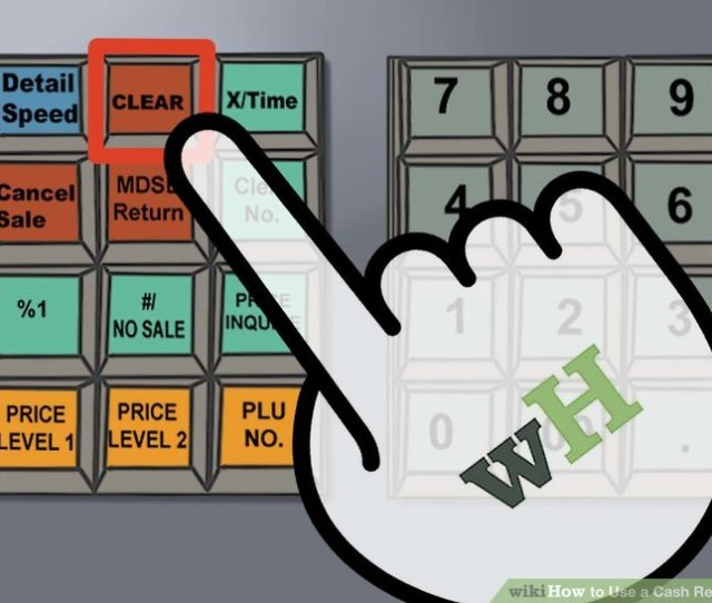 Image Titled Use A Cash Register Step 17