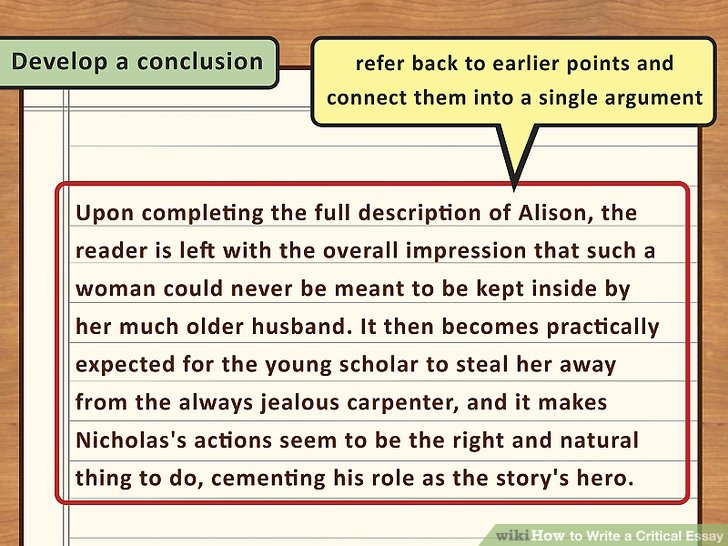 How to Produce a Discussion Composition