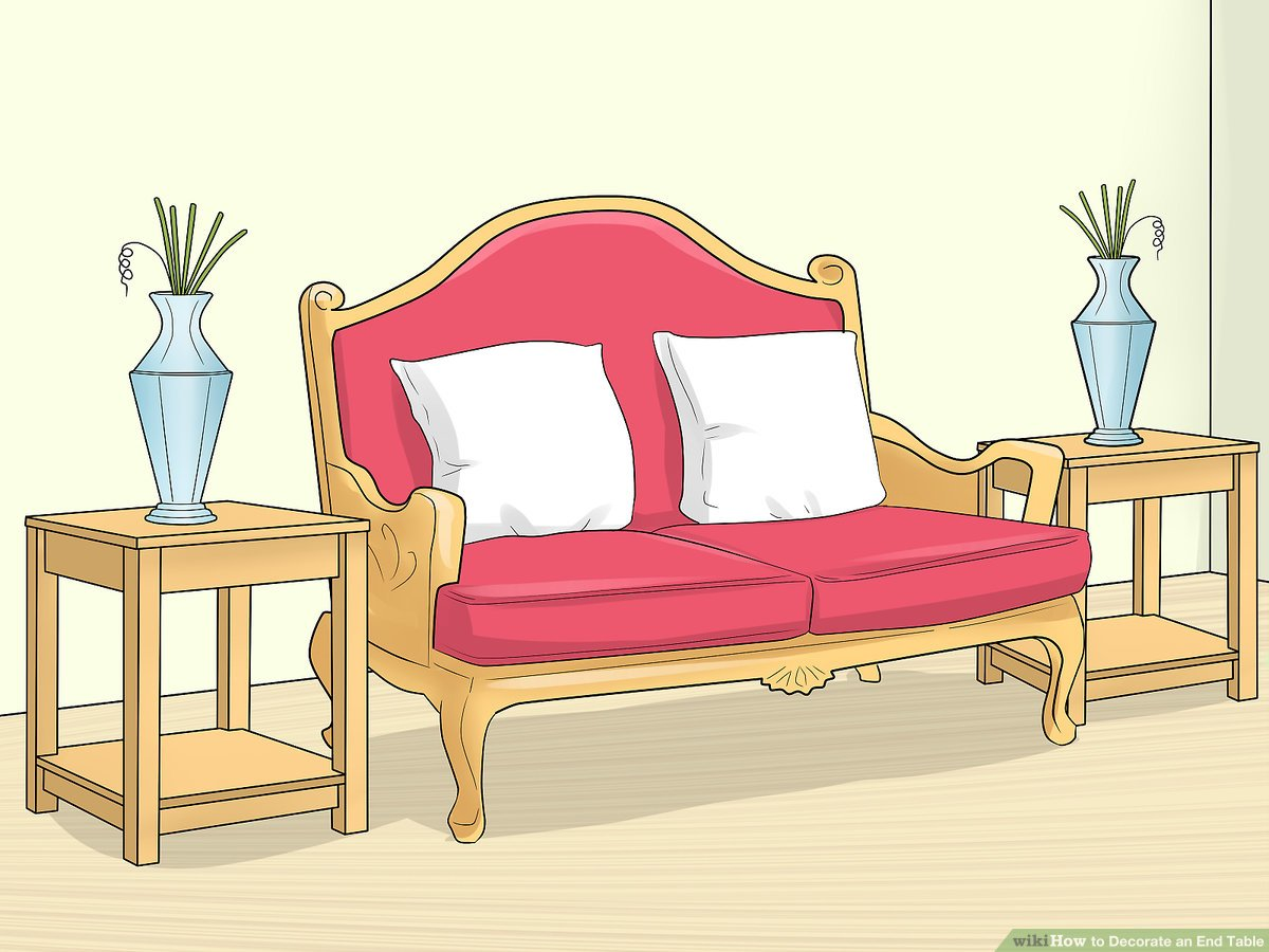 how to decorate an end table 14 steps
