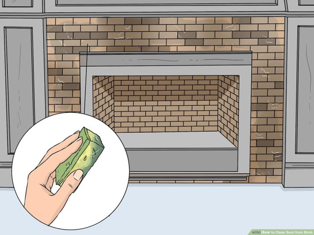 26 Ways to Clean Soot from Brick - wikiHow
