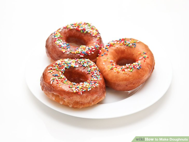 6 Easy Ways To Make Doughnuts With Pictures WikiHow