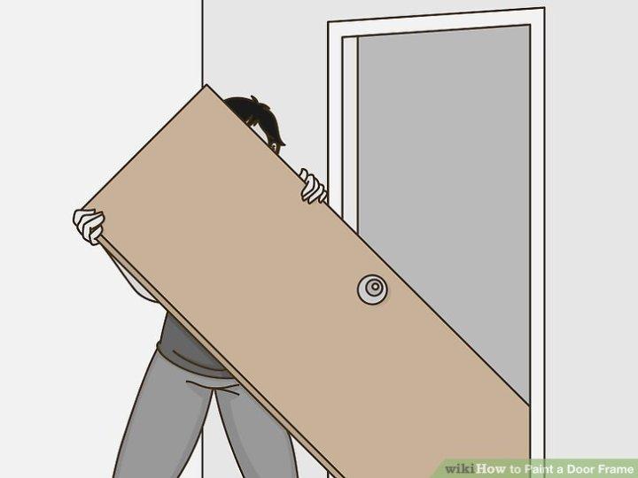 How To Remove Paint From Metal Door Frame   Framesite.blog