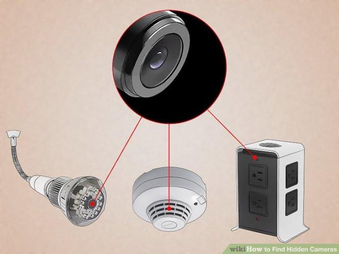 Image Led Find Hidden Cameras Step 1