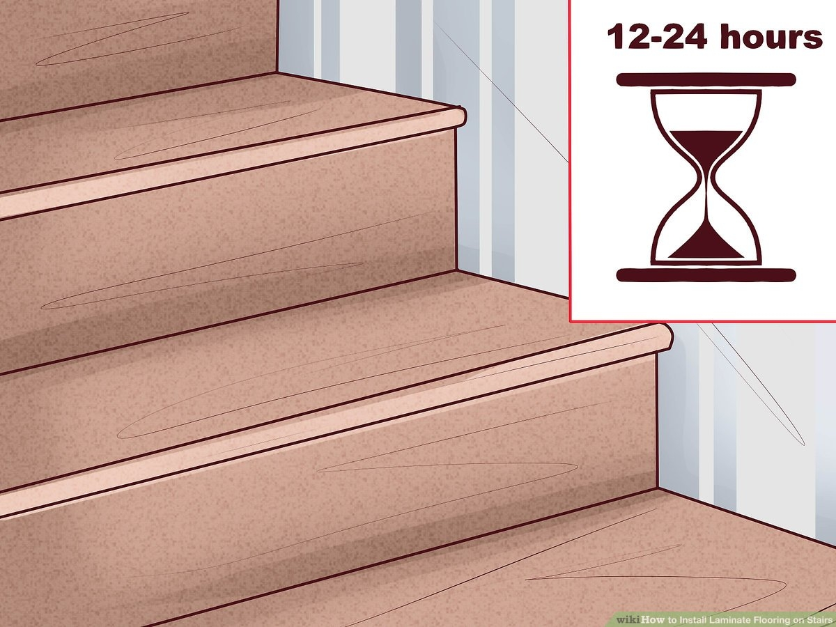 How To Install Laminate Flooring On Stairs 13 Steps | Installing Engineered Hardwood On Stairs | Laminate Flooring | Carpet | Edge Engineered | Nail Head | Dark Walnut