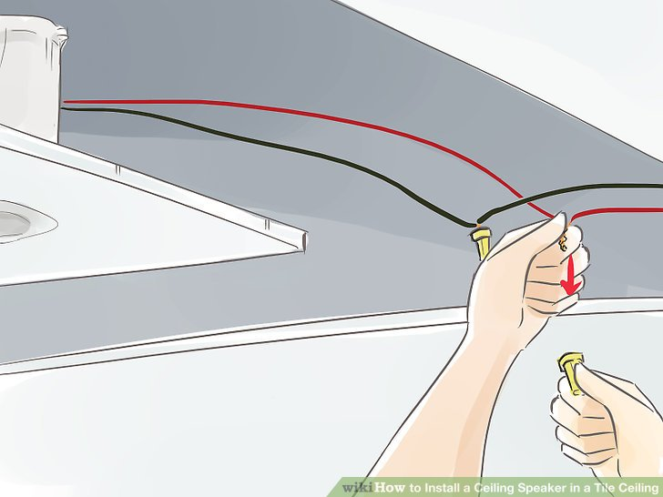 how to install in ceiling speakers