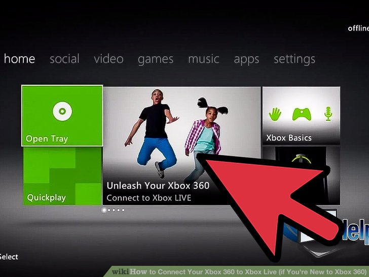 How To Connect Your Xbox 360 To Xbox Live If Youre New To Xbox 360