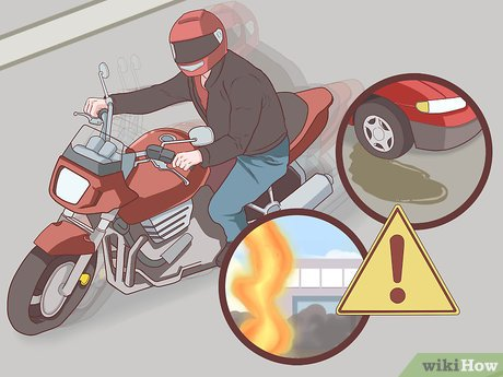 Motorcycle accident claim