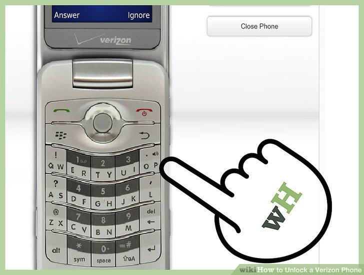 Unlock Verizon Cell Phone