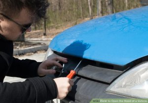 How to Open the Hood of a Vehicle: 12 Steps (with Pictures)