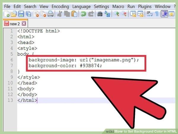 4 Ways to Change Background Color in HTML - wikiHow