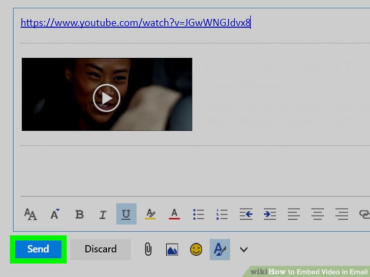 How To Embed Video In Email 11 Steps With Pictures WikiHow
