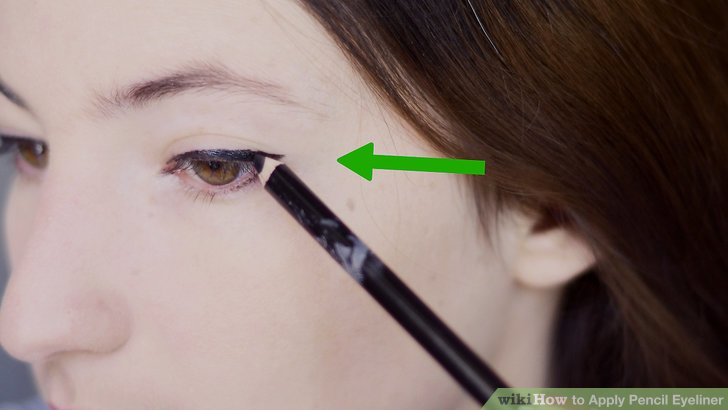 How To Apply Pencil Eyeliner With Pictures Wikihow