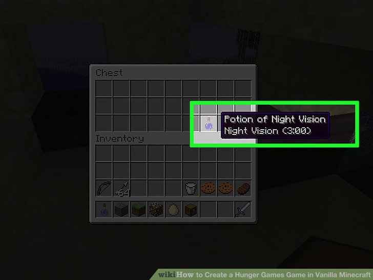 How To Create A Hunger Games Game In Vanilla Minecraft