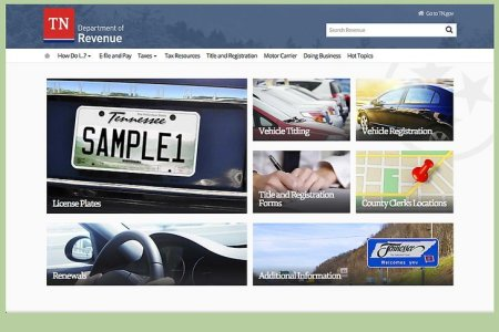 Tennessee Department Of Motor Vehicle Registration