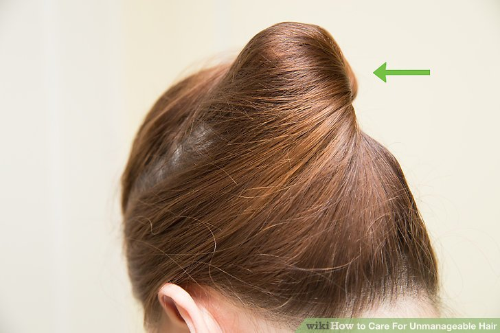 3 Ways To Care For Unmanageable Hair WikiHow