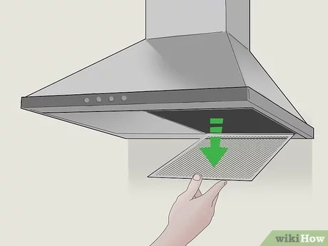 how to clean a kitchen exhaust fan