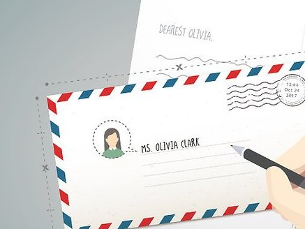 HD Decor Images » Easy Ways to Address Envelopes to Canada   wikiHow Image titled Address Envelopes to Canada Step 1