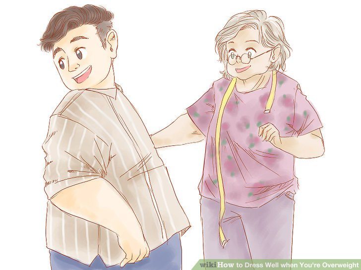 Image titled Dress Well when You're Overweight Step 9