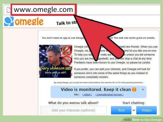Image Titled Use Omegle Step 1