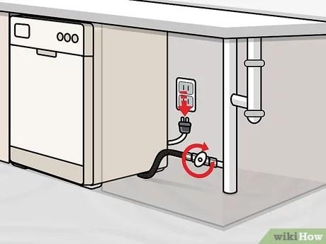 4 ways to drain a dishwasher wikihow