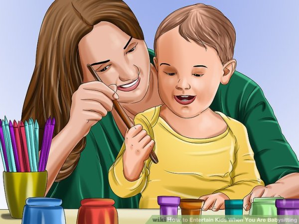 5 Ways to Entertain Kids When You Are Babysitting - wikiHow