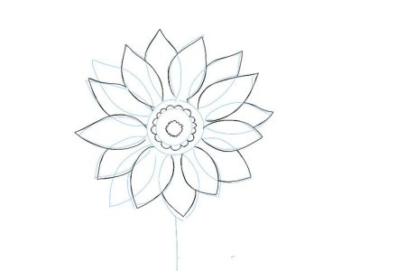 Drawing pictures of flowers that are easy flower shop near me black white flower drawings images flower decoration ideas flowers in black and white drawing at getdrawings free for x black and white flower drawing mightylinksfo
