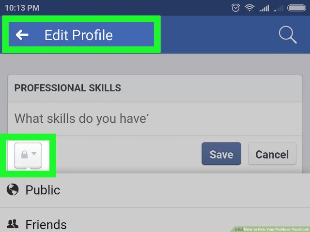 30 Ways to Hide Your Profile on Facebook - wikiHow
