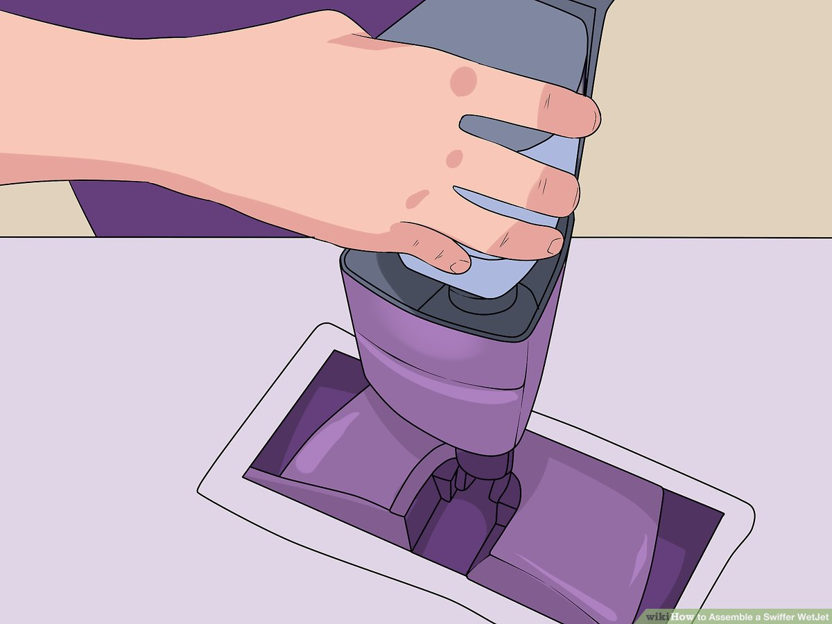 How To Assemble A Swiffer Wetjet 10 Steps With Pictures