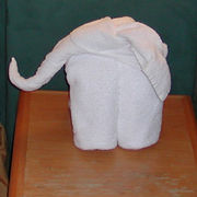 Side view of completed Elephant