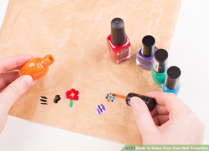 Image Led Make Your Own Nail Transfers Step 4