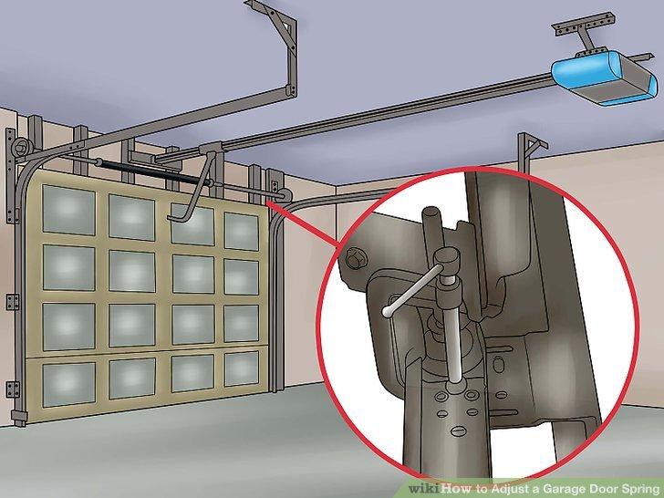 Door Adjustment Garage Tension Spring