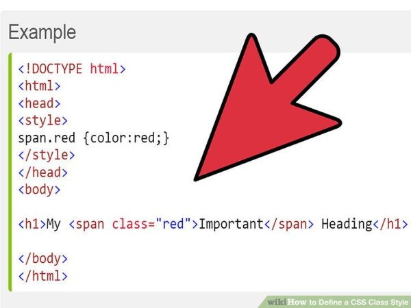 How to Define a CSS Class Style: 8 Steps (with Pictures ...
