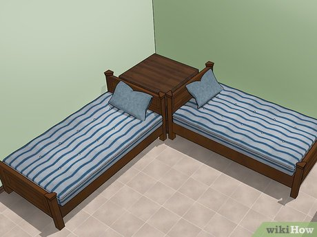 How To Fit Two Twin Beds In A Small Room 12 Steps With Pictures