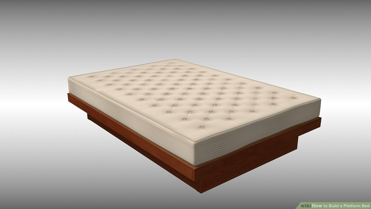 How To Build A Platform Bed 14 Steps With Pictures Wikihow