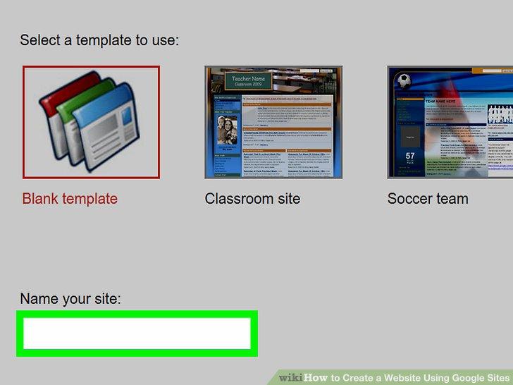 Create a Website Step 4