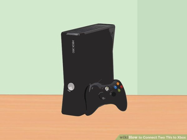 3 Ways to Connect Two TVs to Xbox - wikiHow