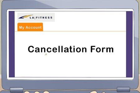 Free Standard Form Gym Membership Cancellation Form Standard Form