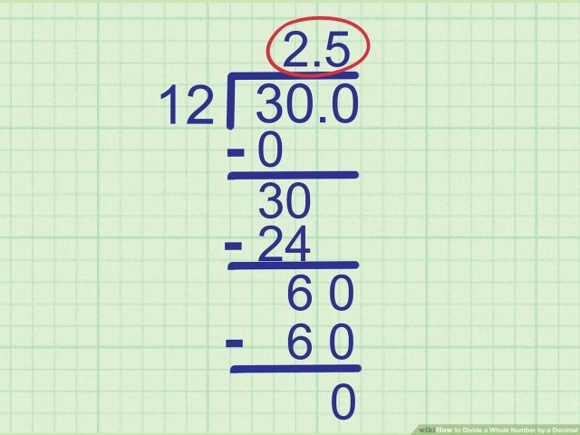 How to Divide a Whole Number by a Decimal: 28 Steps
